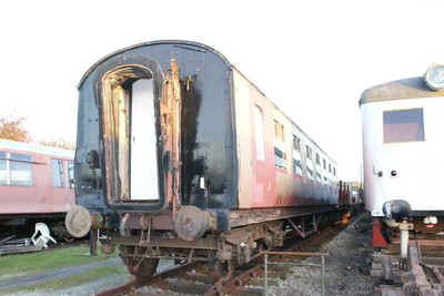 27162 awaits collection at the Buckinghamshire Railway Centre in April